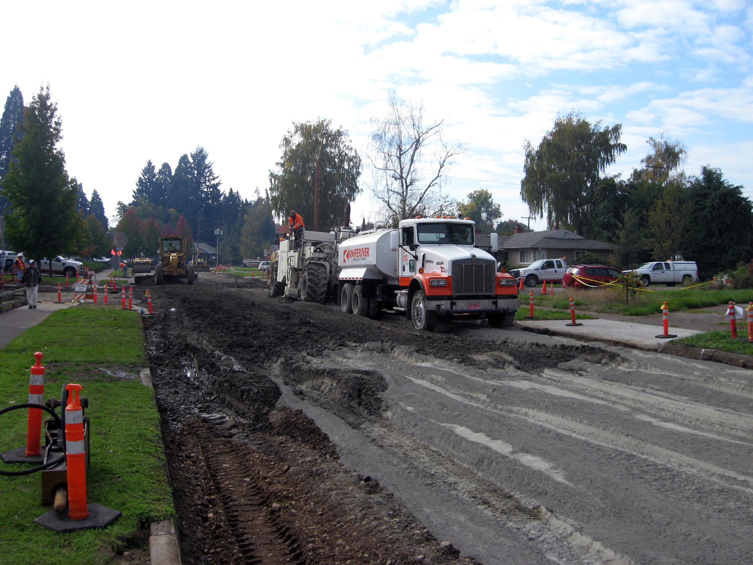 NW 10th Street Cement Treatment | Corvallis, Oregon