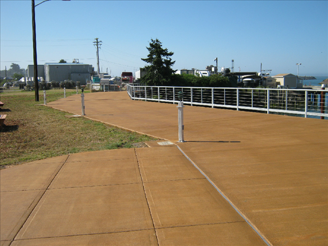 Brookings Harbor Pedestrian Improvements | Curry County, Oregon