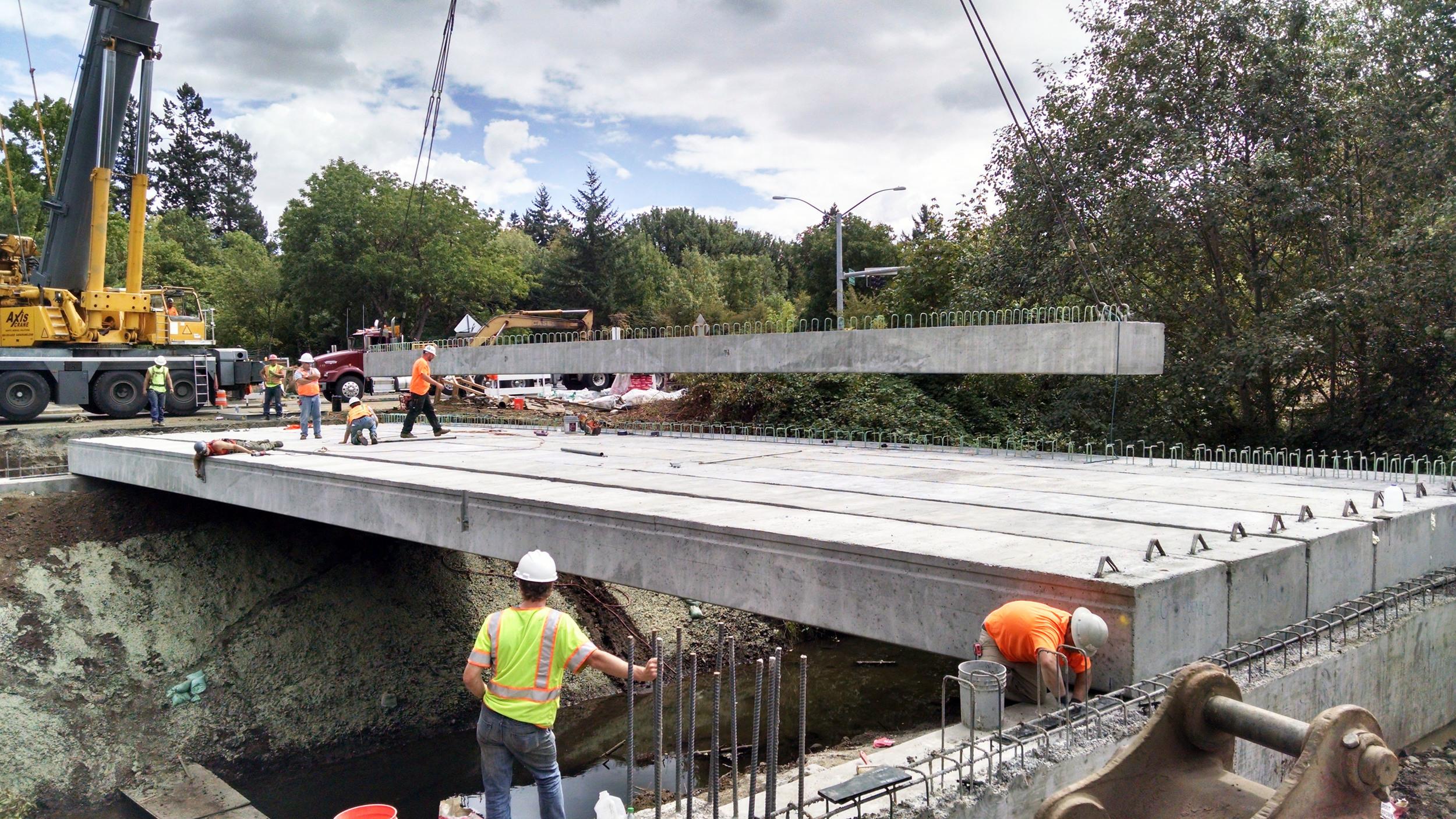 Oak Creek (SW Morris Avenue)Bridge| Corvallis, Oregon