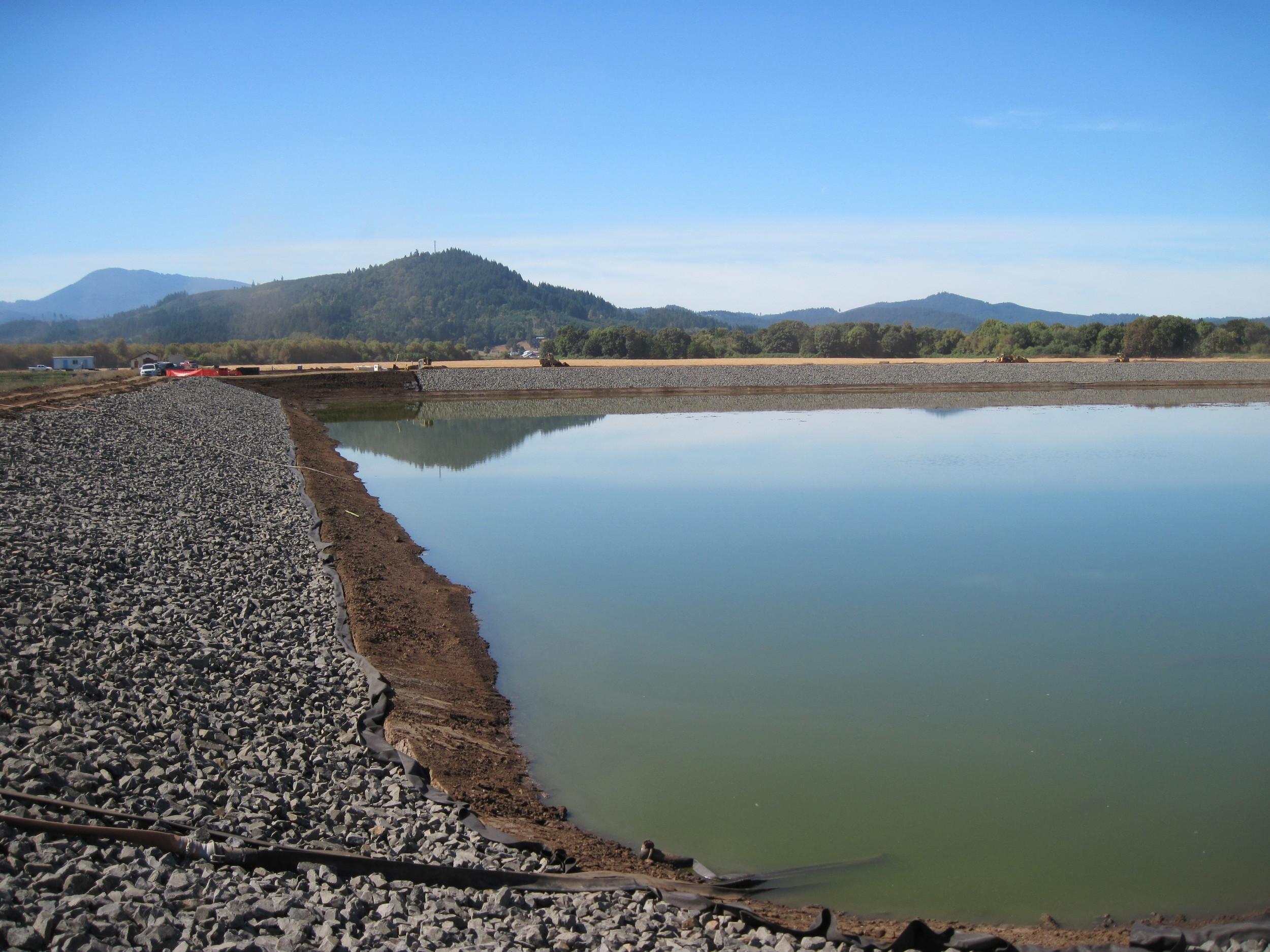 Philomath Wastewater Treatment Plant Lagpons | Philomath, Oregon