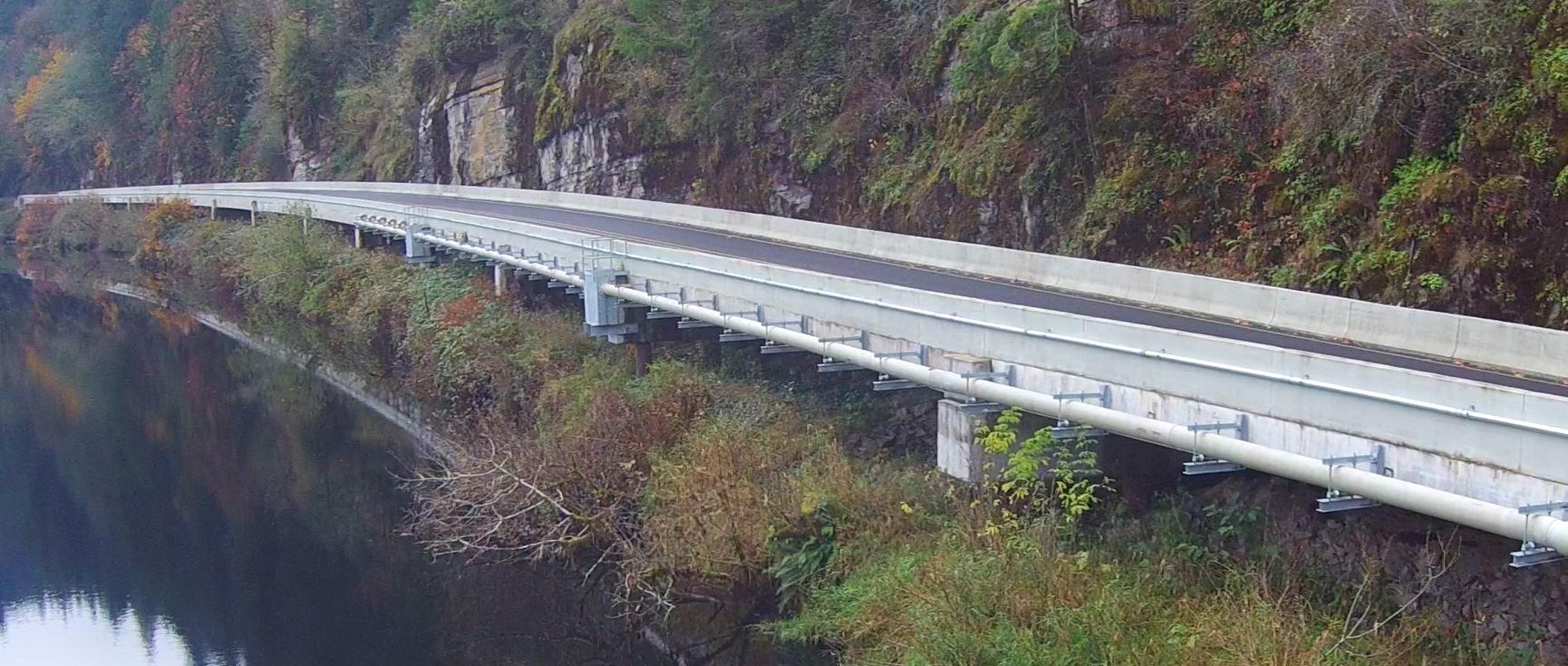 Sweet Creek Retaining Wall Replacement | Lane County, Oregon