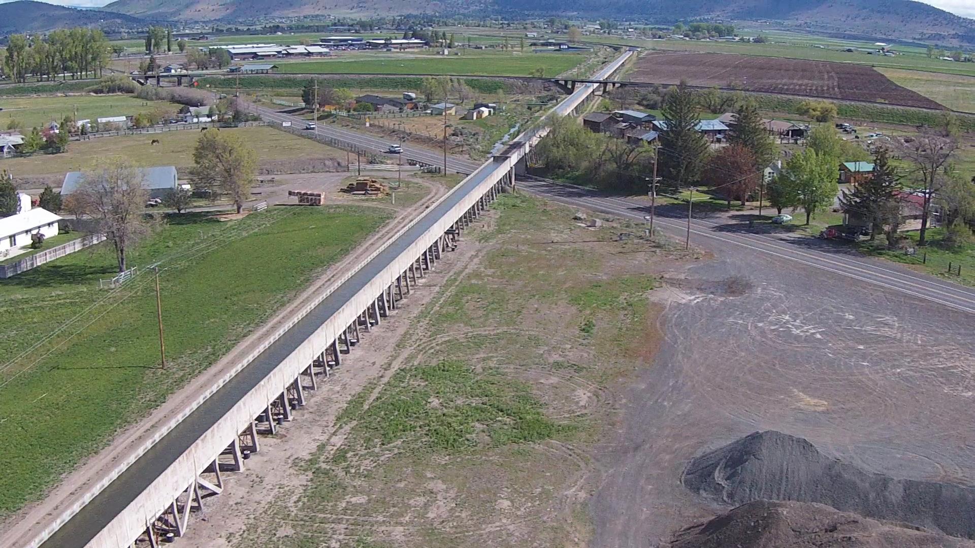 C-Flume Replacement | Klamath Falls,Oregon