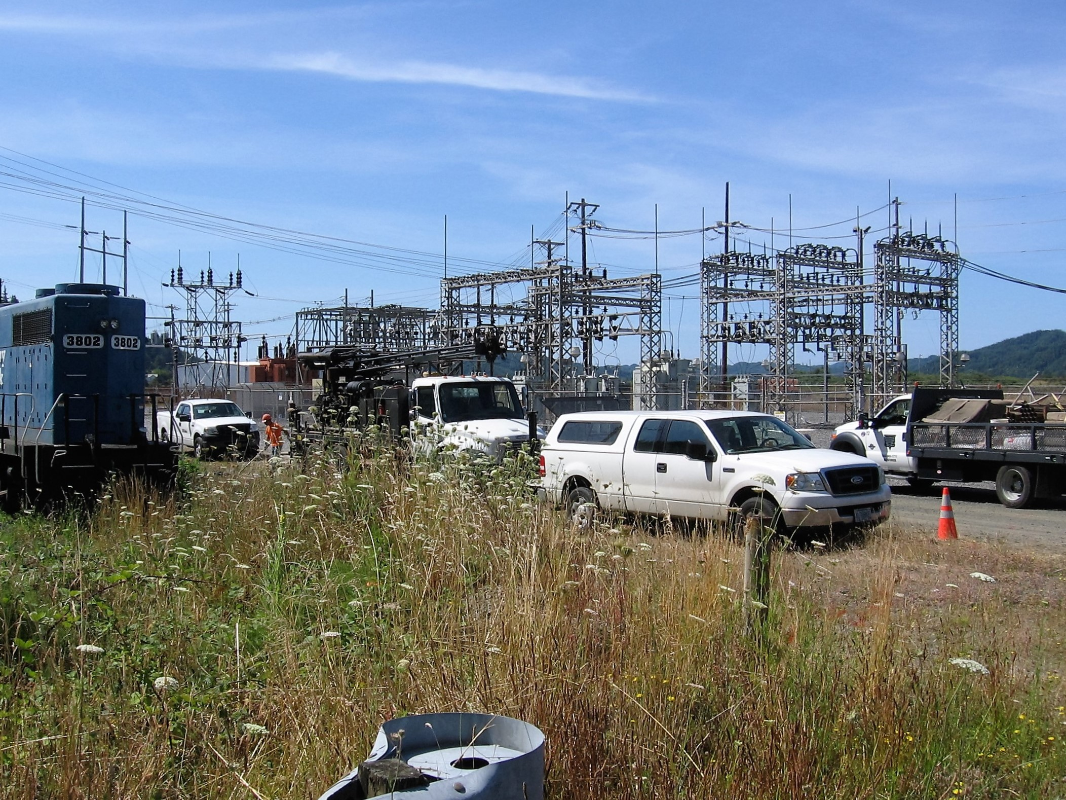 Central Lincoln People's Utility District Substation 305 | Douglas County, Oregon
