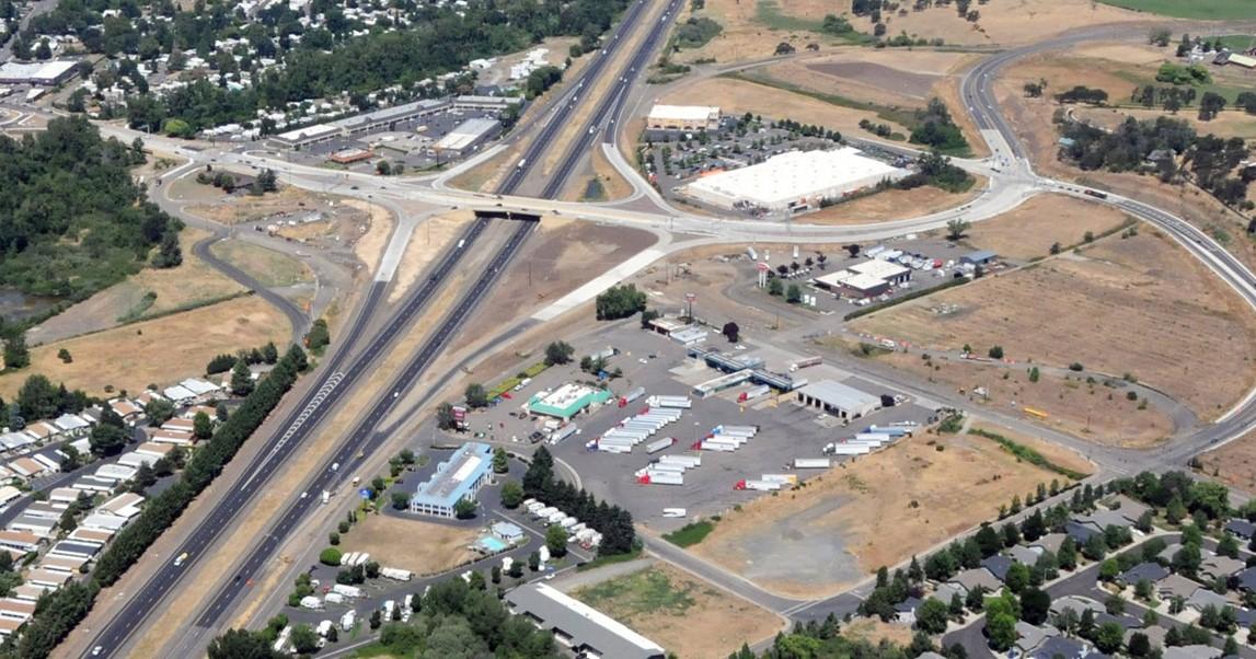 Fern Valley Interchange   Phoenix, Oregon