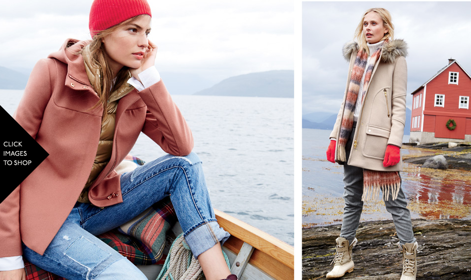 Excerpt from J-Crew´s online version of the catalog