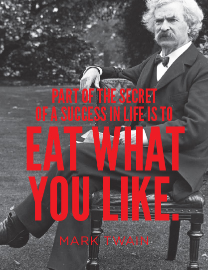 EAT WHAT YOU LIKE