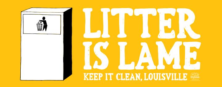 Litter is Lame