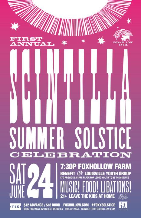 First Annual Scintilla