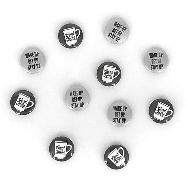 Good Folks Buttons
