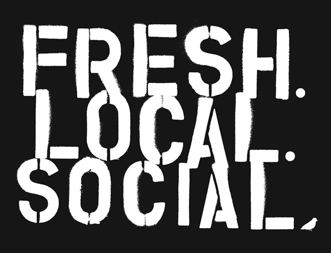 Fresh. Local. Social.