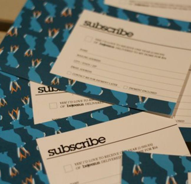 Bejeezus Subscribe Form