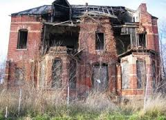 Eating a diet full of processed and refined foods will get you a brick house like this on the inside and over time on the outside of your body too.