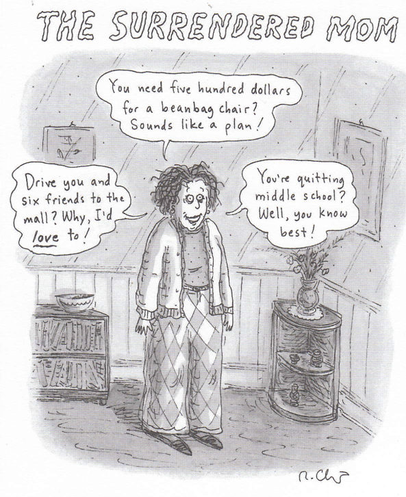 Roz Chast from   The New Yorker