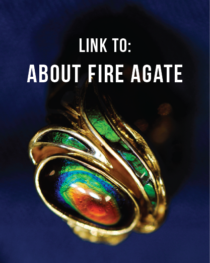 about fire agate
