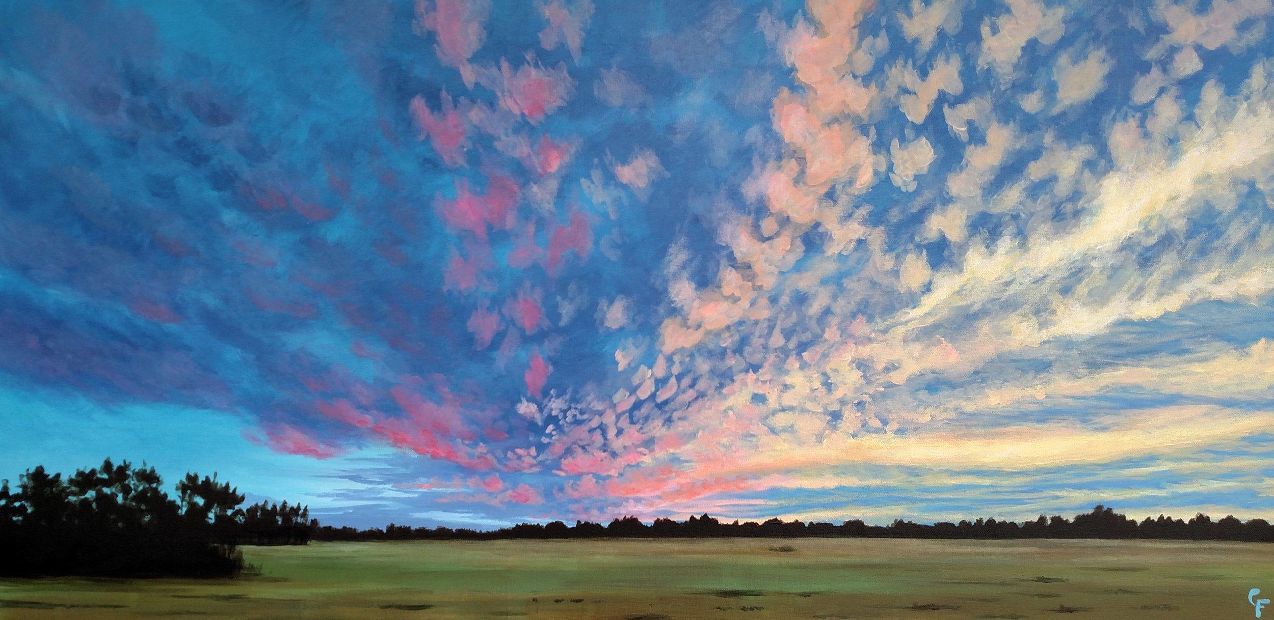 """November Confetti Sky"" by Catherine Freshley"