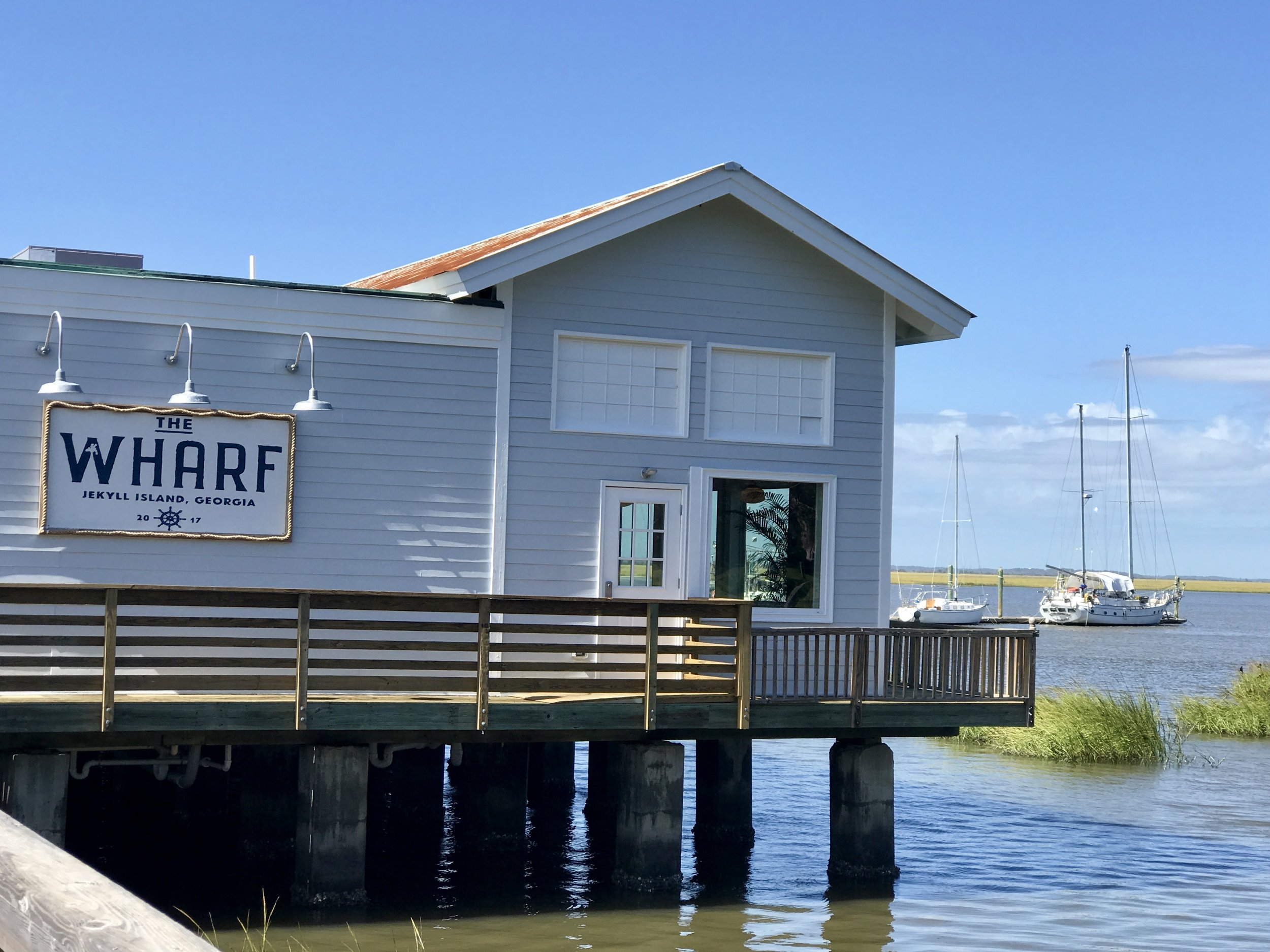 View of the Wharf as you approach.