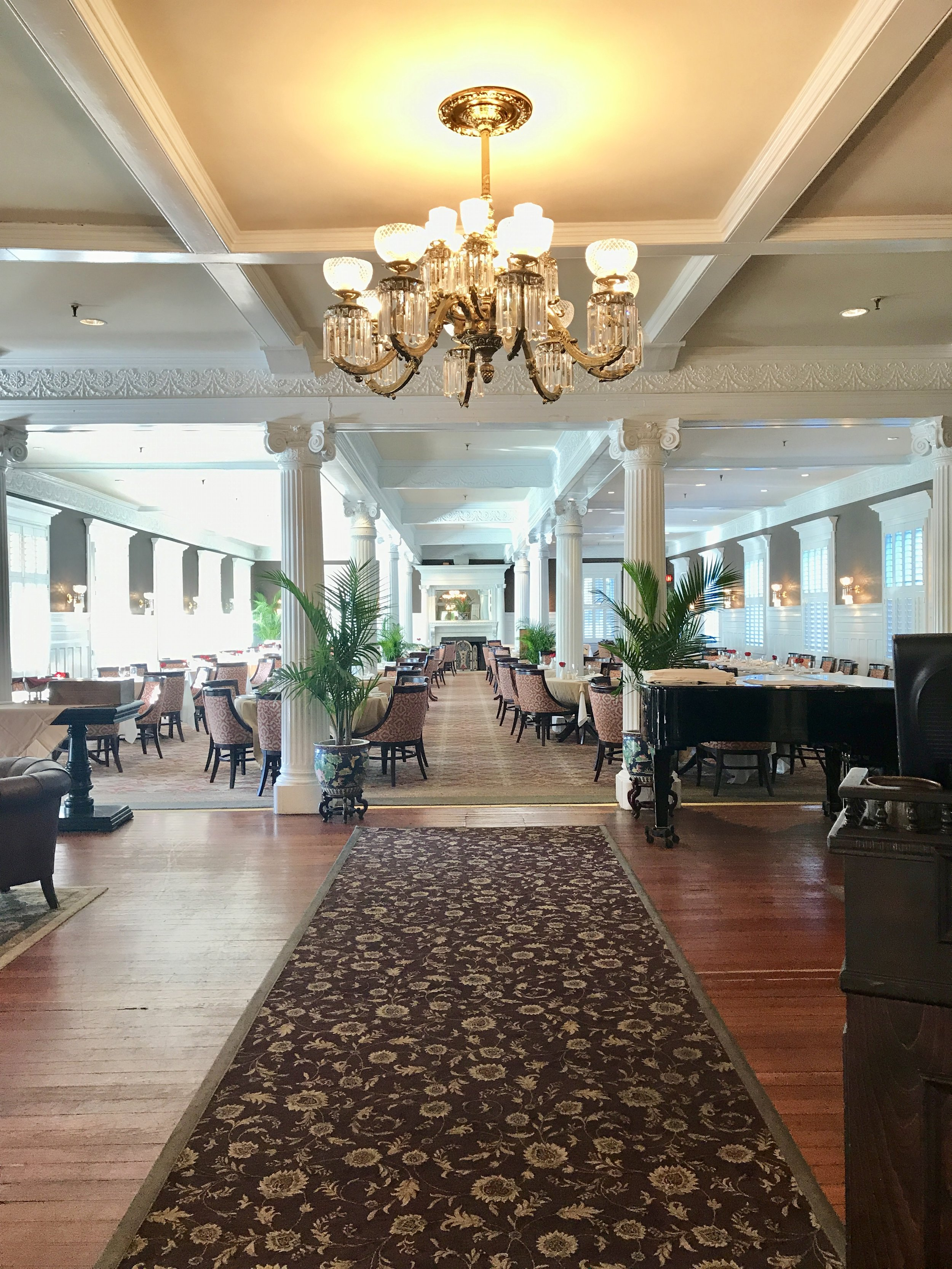 Grand Dining Room at the Jekyll Island Club.