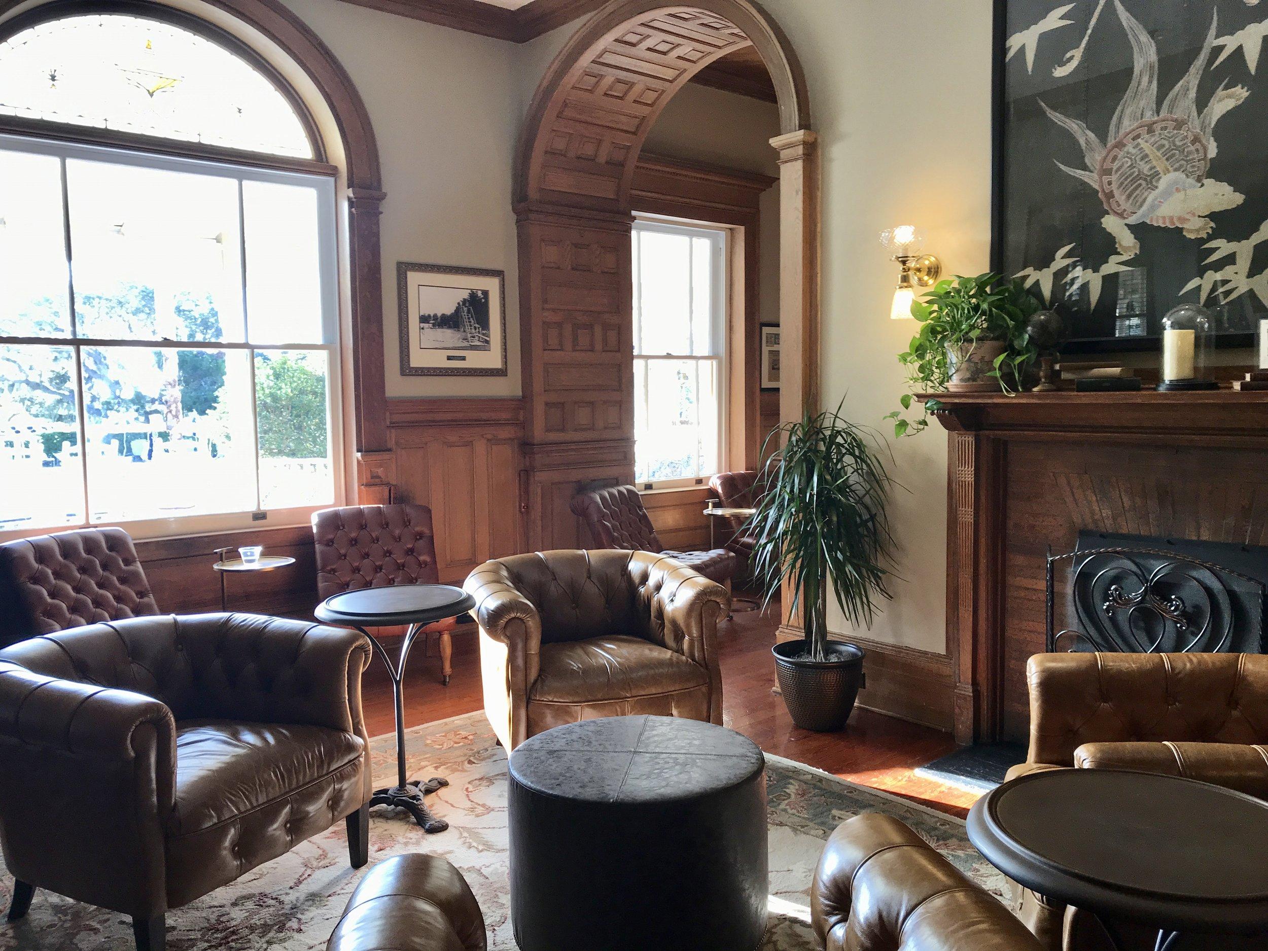 Lounge area, Lobby Bar.