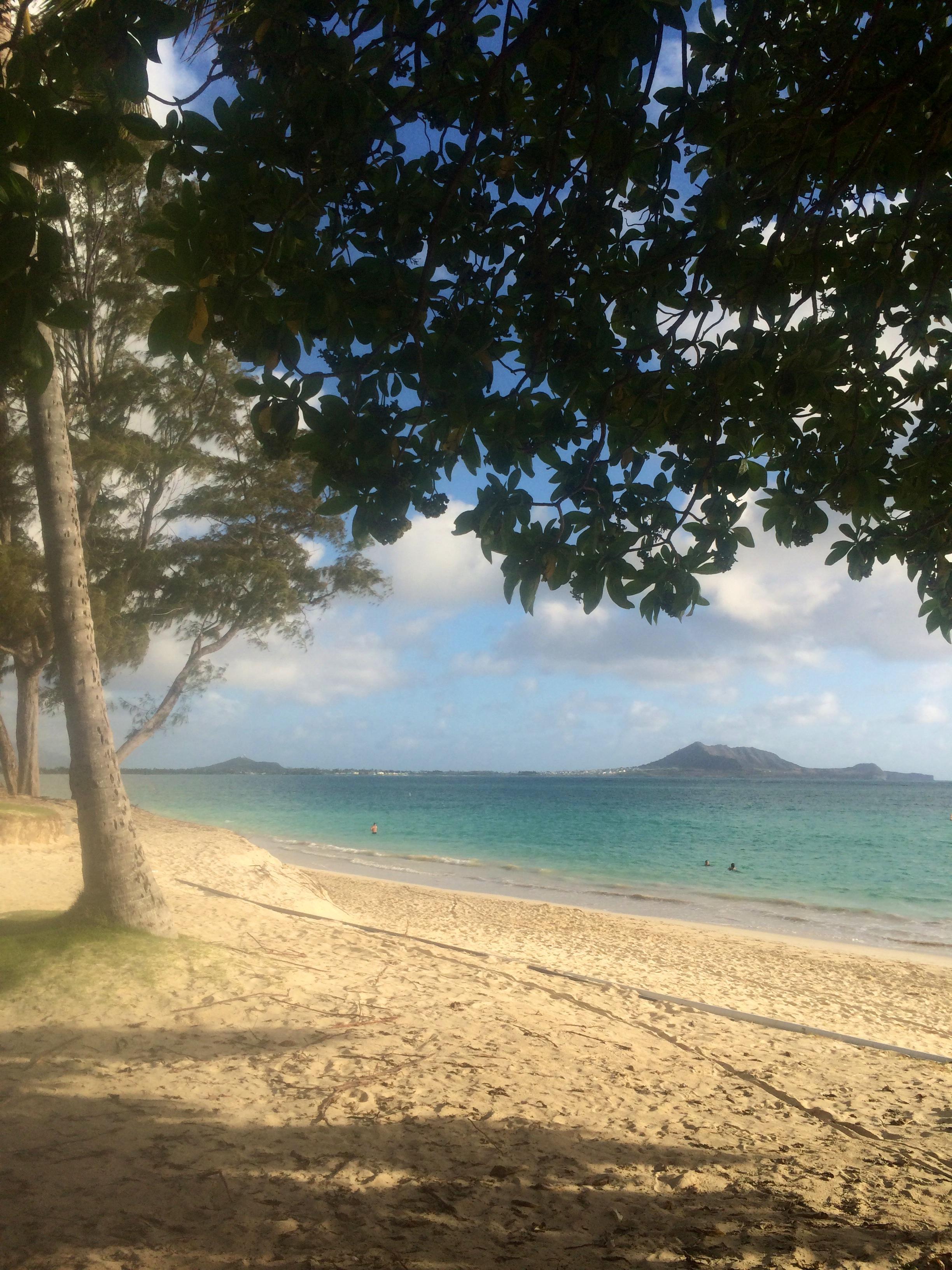 This is home. Kailua Beach