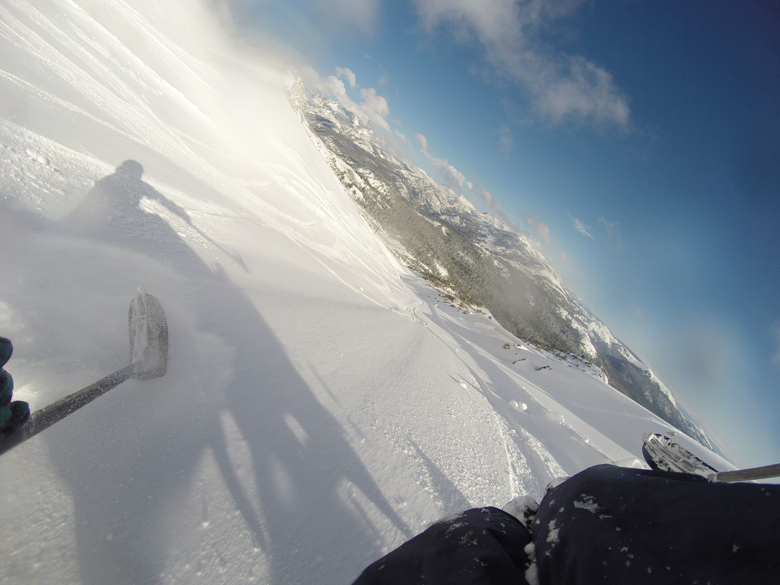 Scored a powder day at Mammoth on May 9, 2015. Good thing i brought my ski gear!