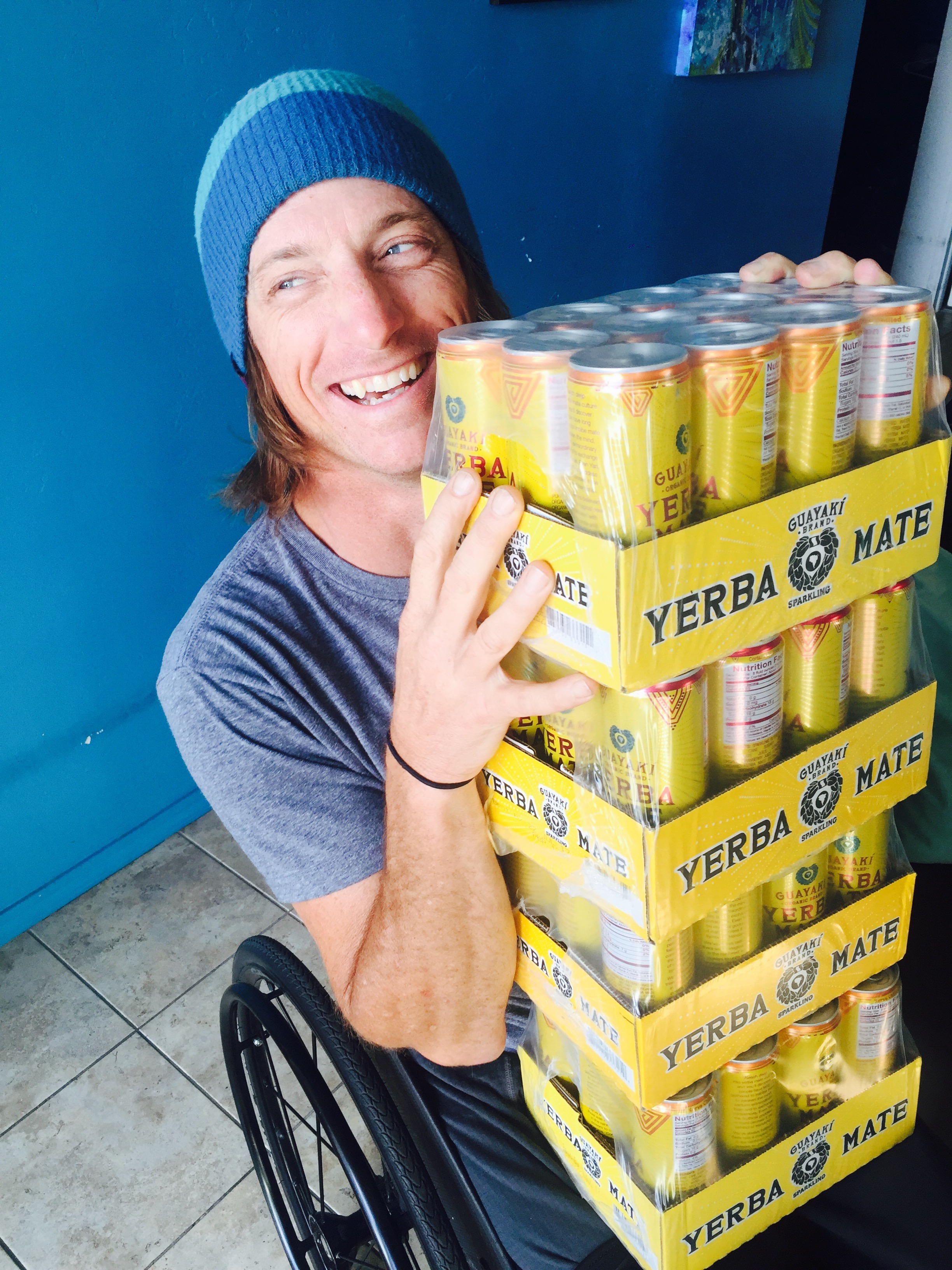 Addicted to Guayaki. Photo by Meghan Foley