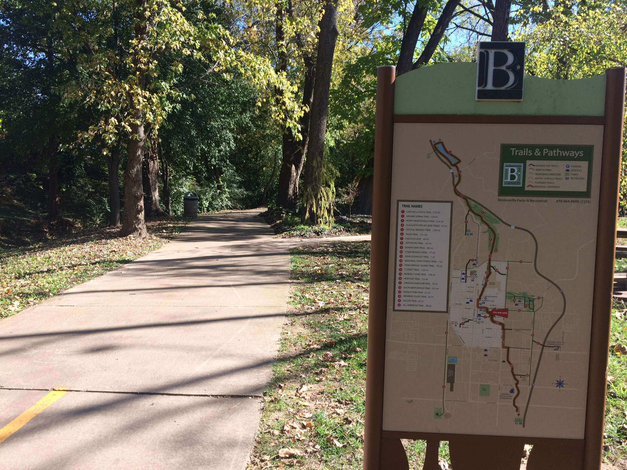 Trails, trails and more trails