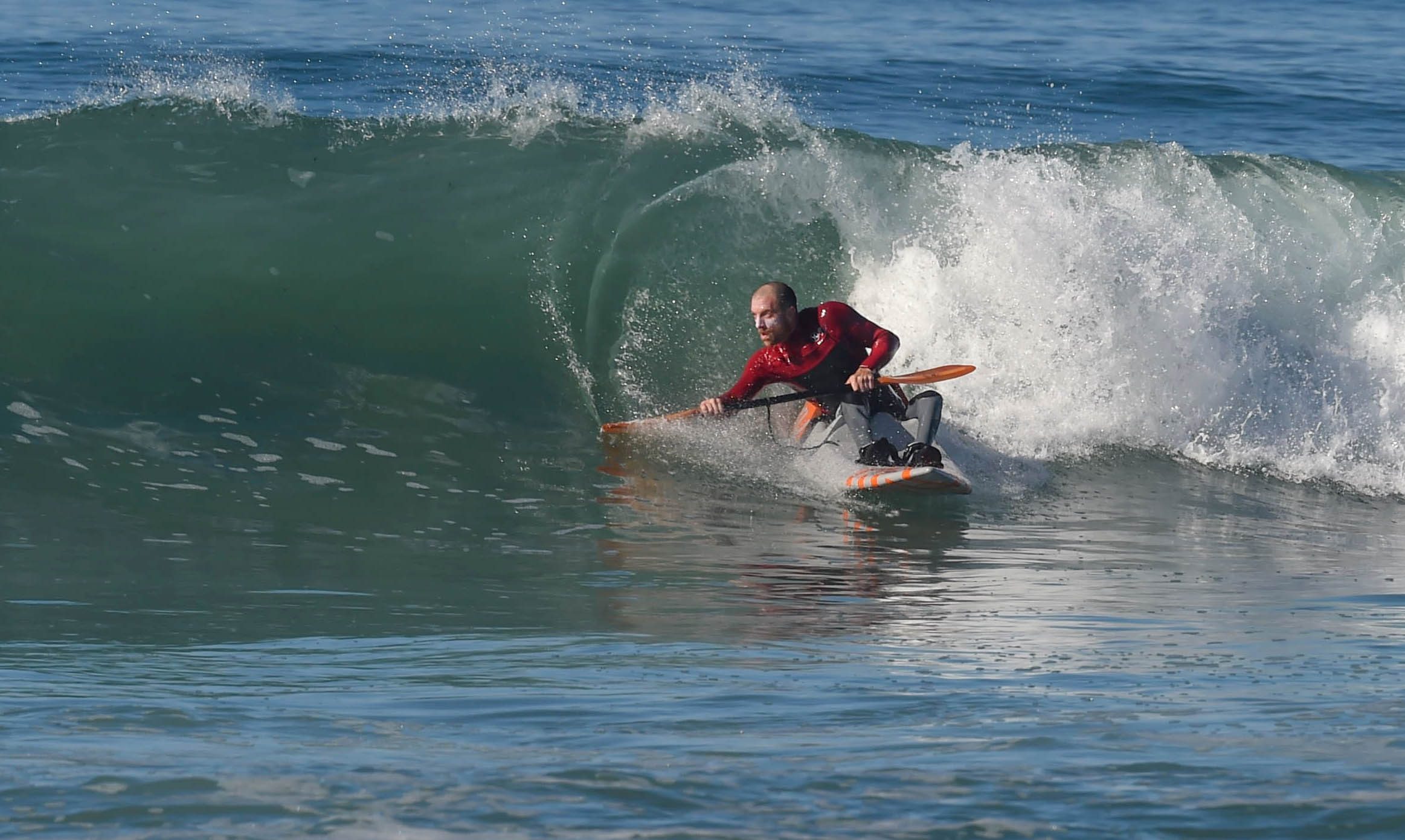 Some of the insiders were small fun and pretty like this one. Cool paddle drag.