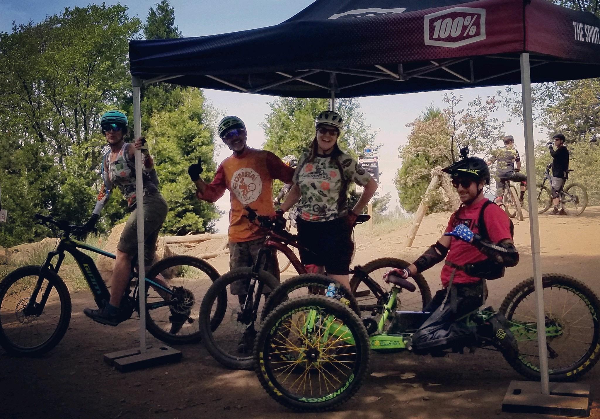 Shakas all around with the SDMBA crew