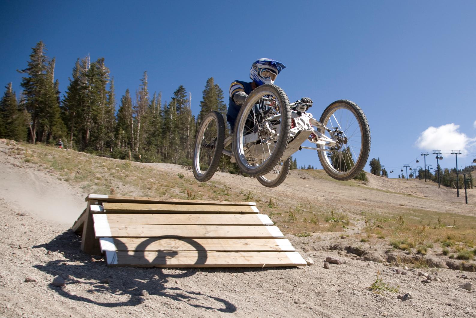 Launching to new heights. Bike #2
