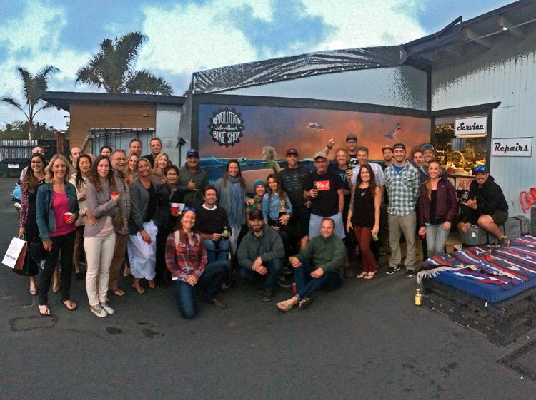 Fundraiser at Revolution Bike Shop. Thanks guys!