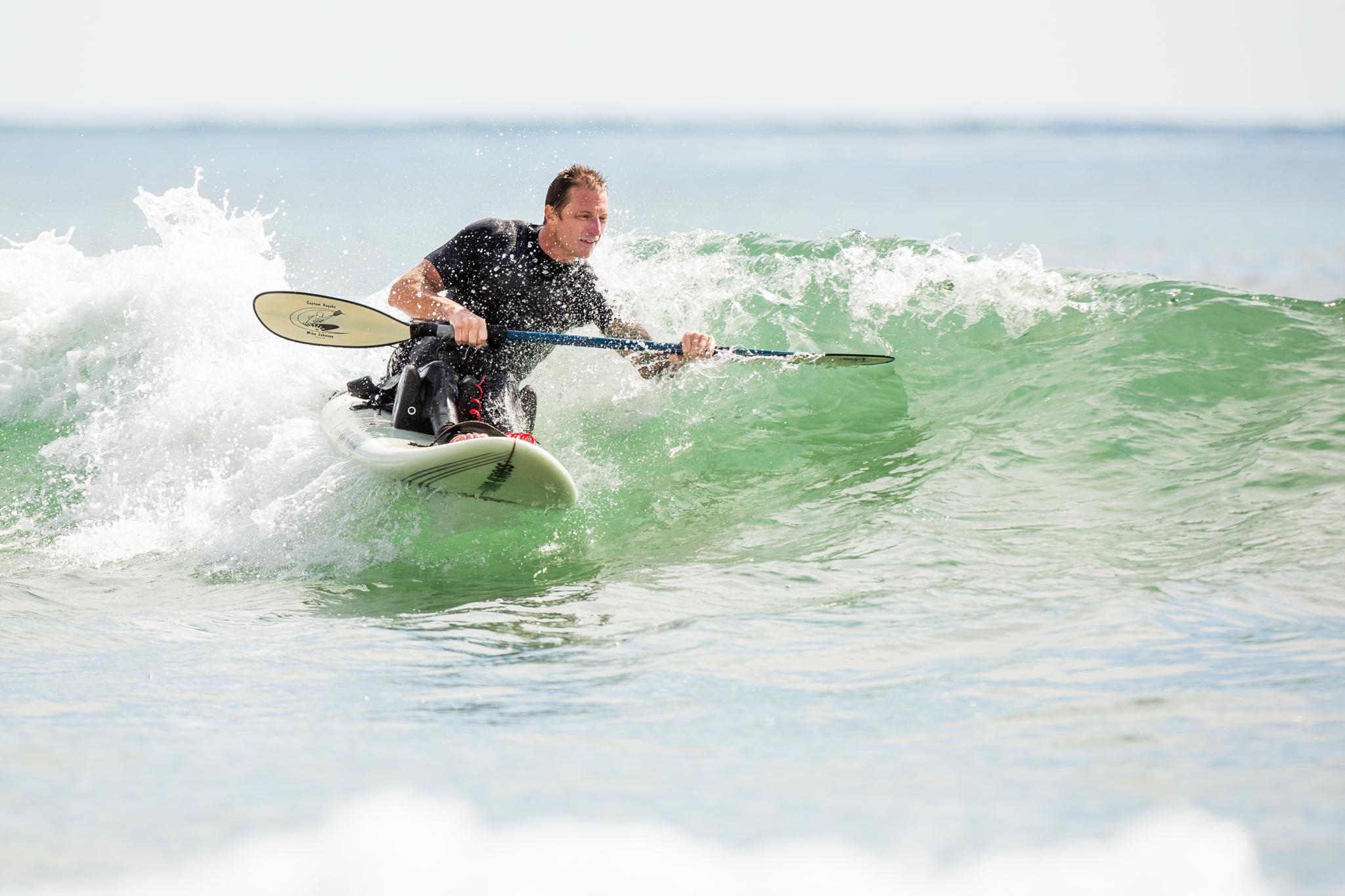 Catchin' a wave. Photo: Minaret Photography