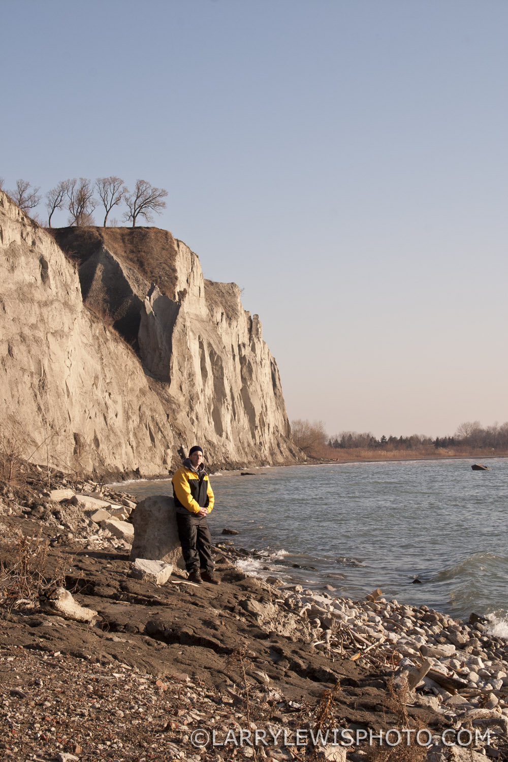 Scarborough Bluffs, January 2006