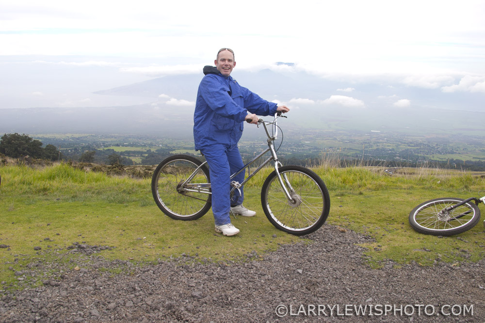 In 2007 I bicycled from the peal of Haleaka Volcano to the coastal town of Paia
