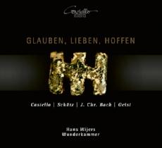 CD GLAUBEN, LIEBEN, HOFFEN  Hans Wijers (Bass) & WUNDERKAMMER  Coviello Classics 2018