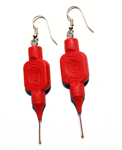 © Plastic Seconds Upcycled Tooth Pick Earrings.jpg