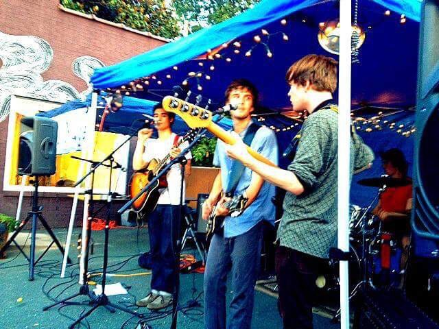 2013: Will Marsh performing at the Bridge in Charlottesville in college.