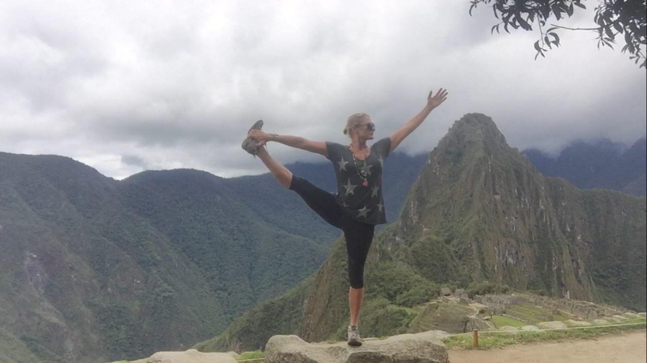 Open to everything in Machu Picchu