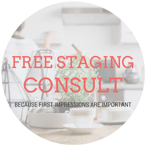Kate provides a free staging consult for her Clients - because it does make a difference.