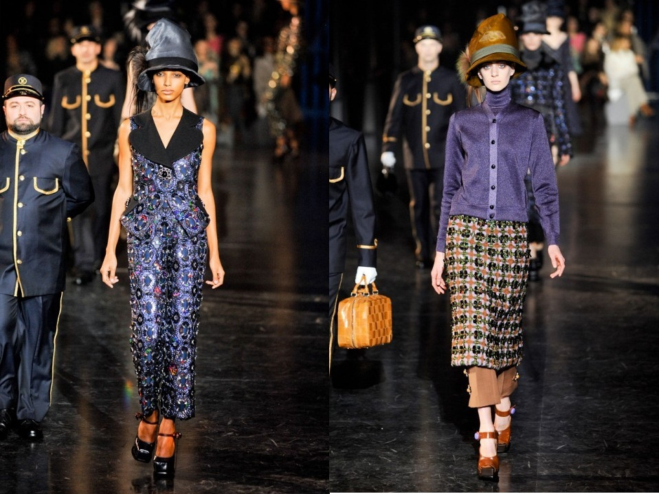 Louis Vuitton Pret A Porter Heads The Runway Station This A W13 That S So Gloss