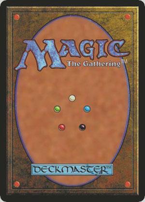 Typical magic card
