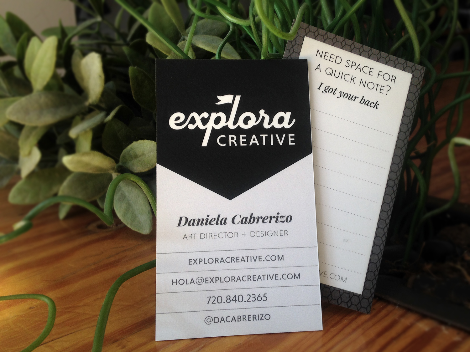 Just so you can recognize me on the streets... here's a sneak peak of my new business cards!