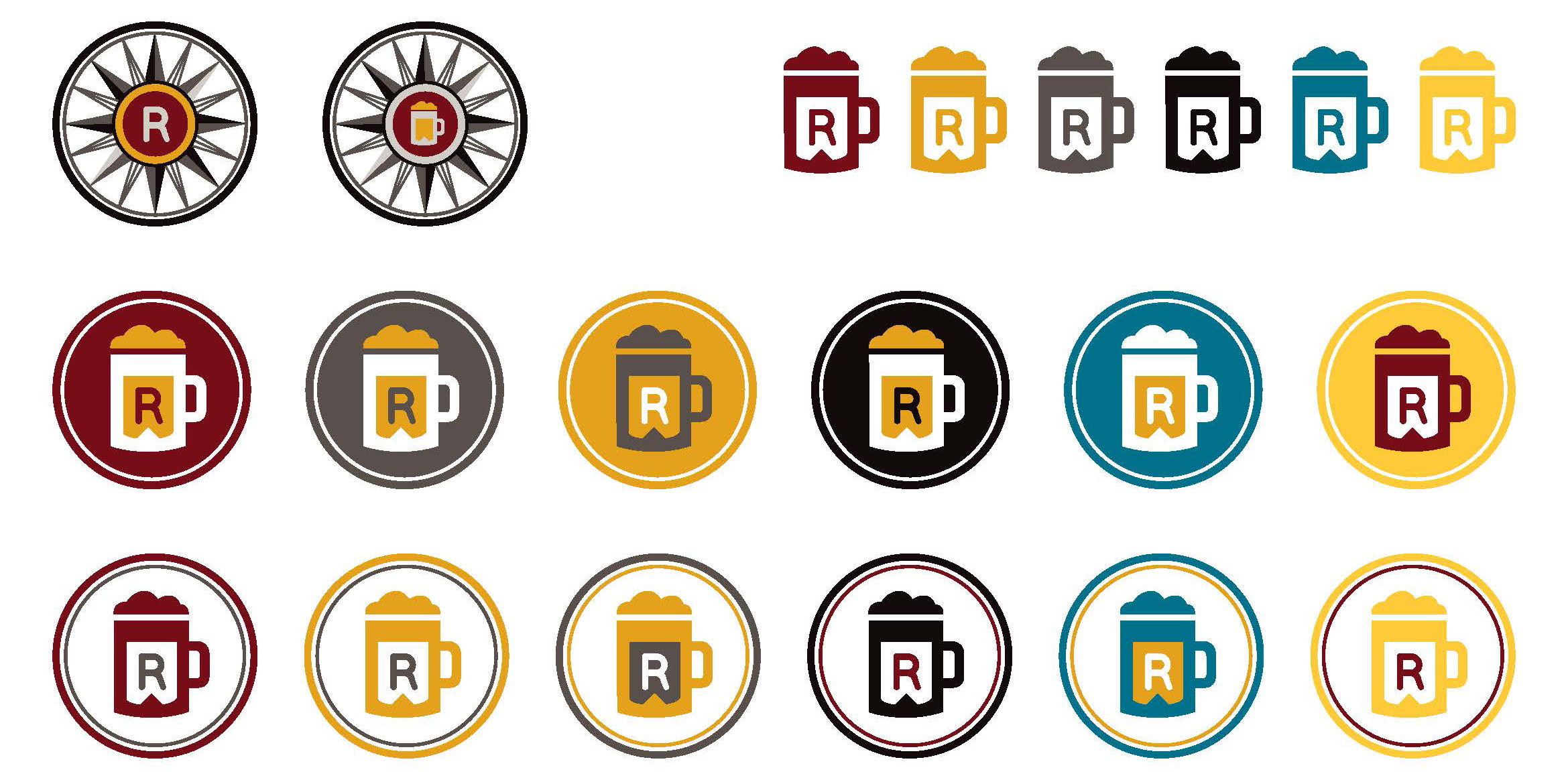Brand system:color icons
