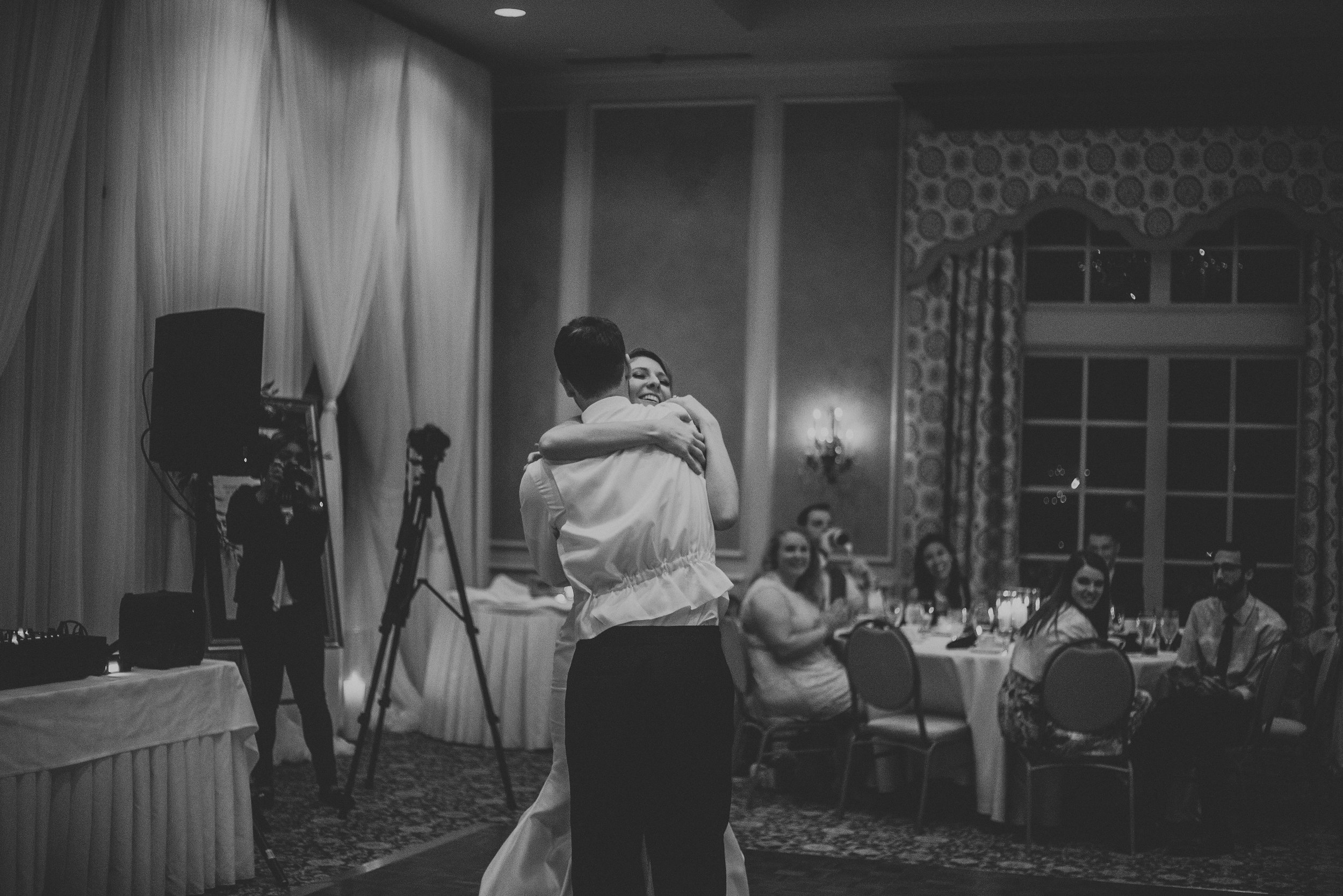 Our first dance is one of the things I loved most about the wedding. We had a blast learning it, and worked so hard!