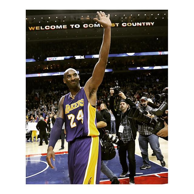 Goodbye, So long, adiós, Bon voyage, auf wiedersehen, aloha, arrivederci #kobebryant it has been one heck of a ride and we enjoyed everyone moment of it!! #igdaily #igfitness #igdaily #basketball #bball #nba #mvp #professional #athlete #20 #24 #player #mambaout #kobe
