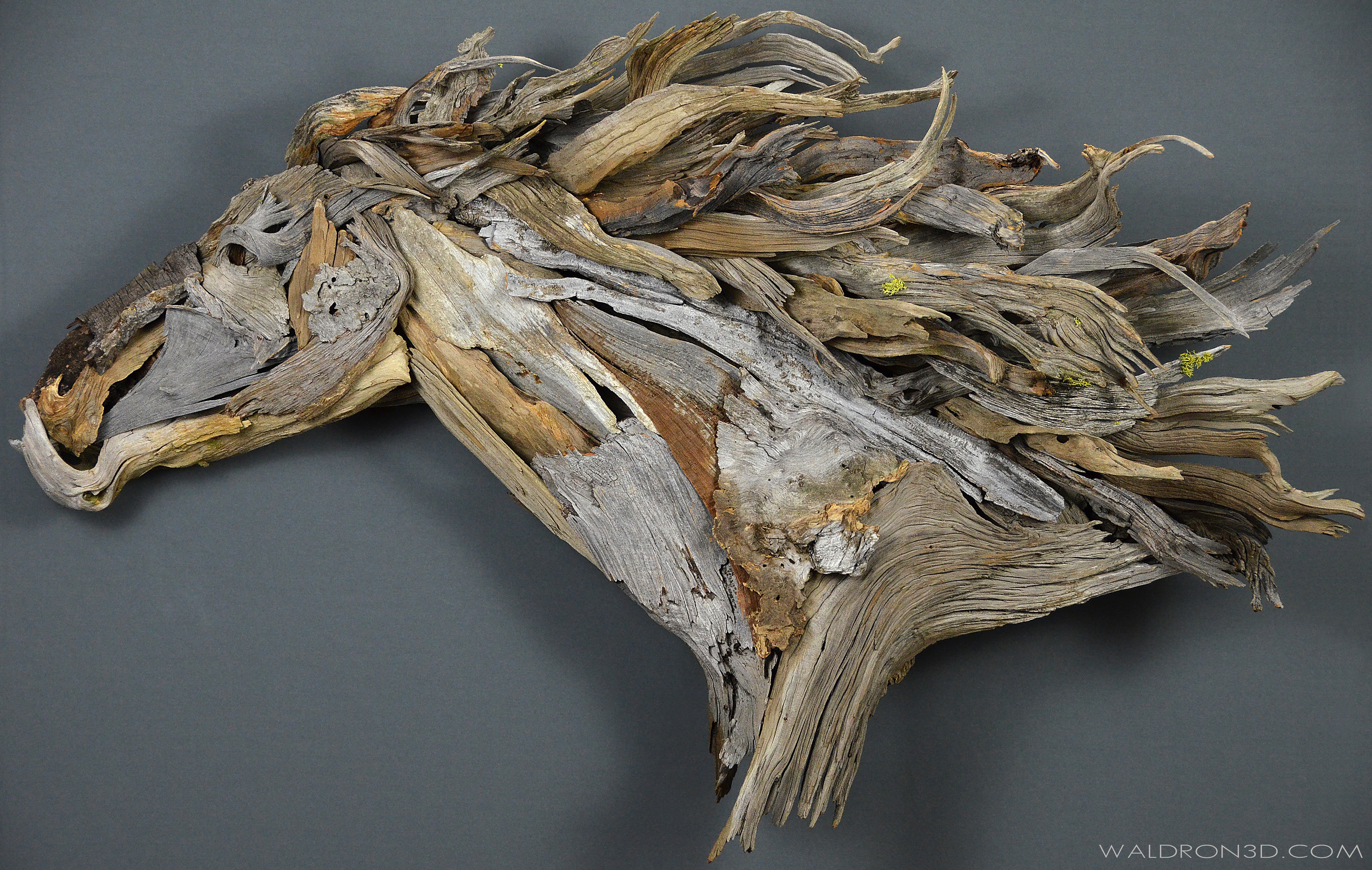 || LIBERATION || WALDRON 3D SCULPTURAL EXPRESSIONS - CONSTRUCTED FROM FORAGED, WEATHERED PIECES OF HIGH DESERT WOOD.