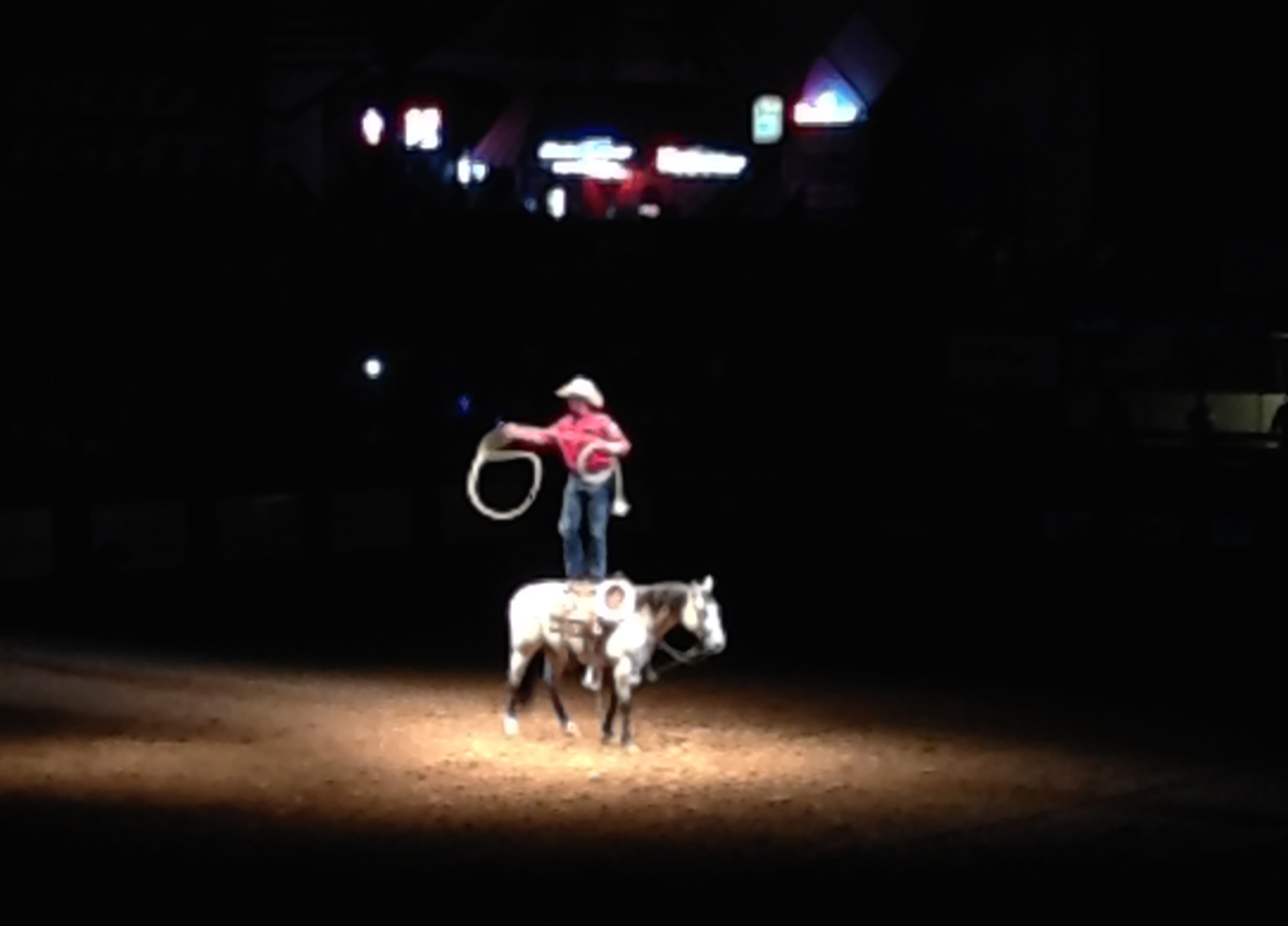 The rodeo was definitely a crazy experience...