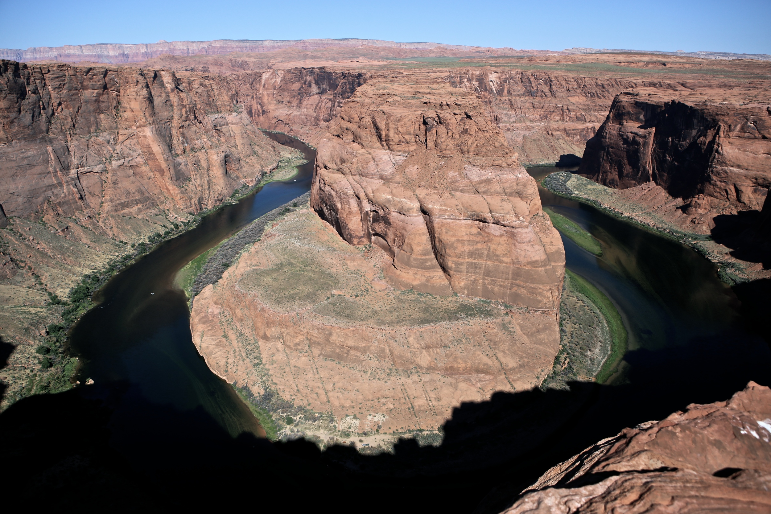 Stopped by Horseshoe Bend afterwards spur the moment which was definitely worth the slight detour