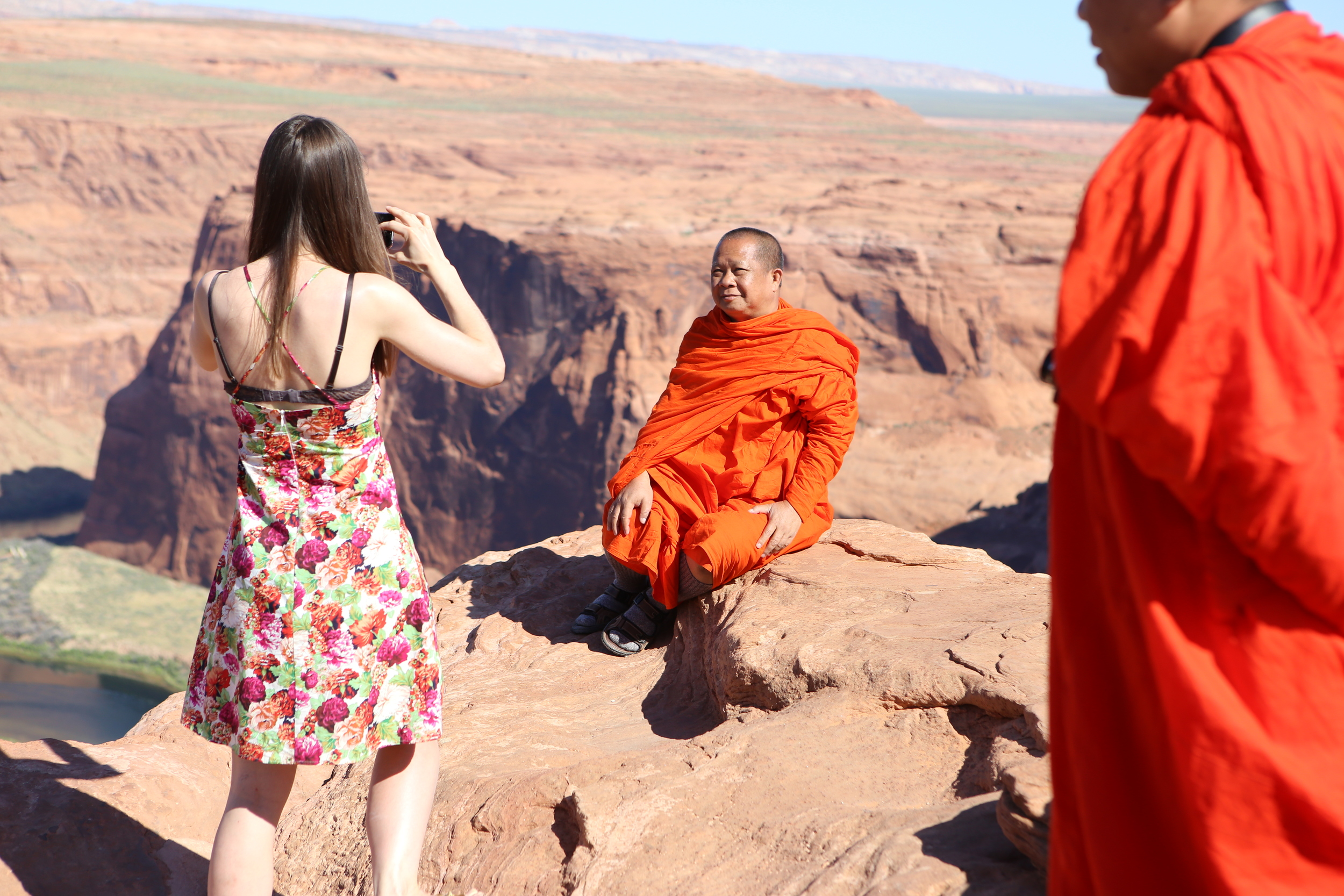 These monks loved Horseshoe Bend