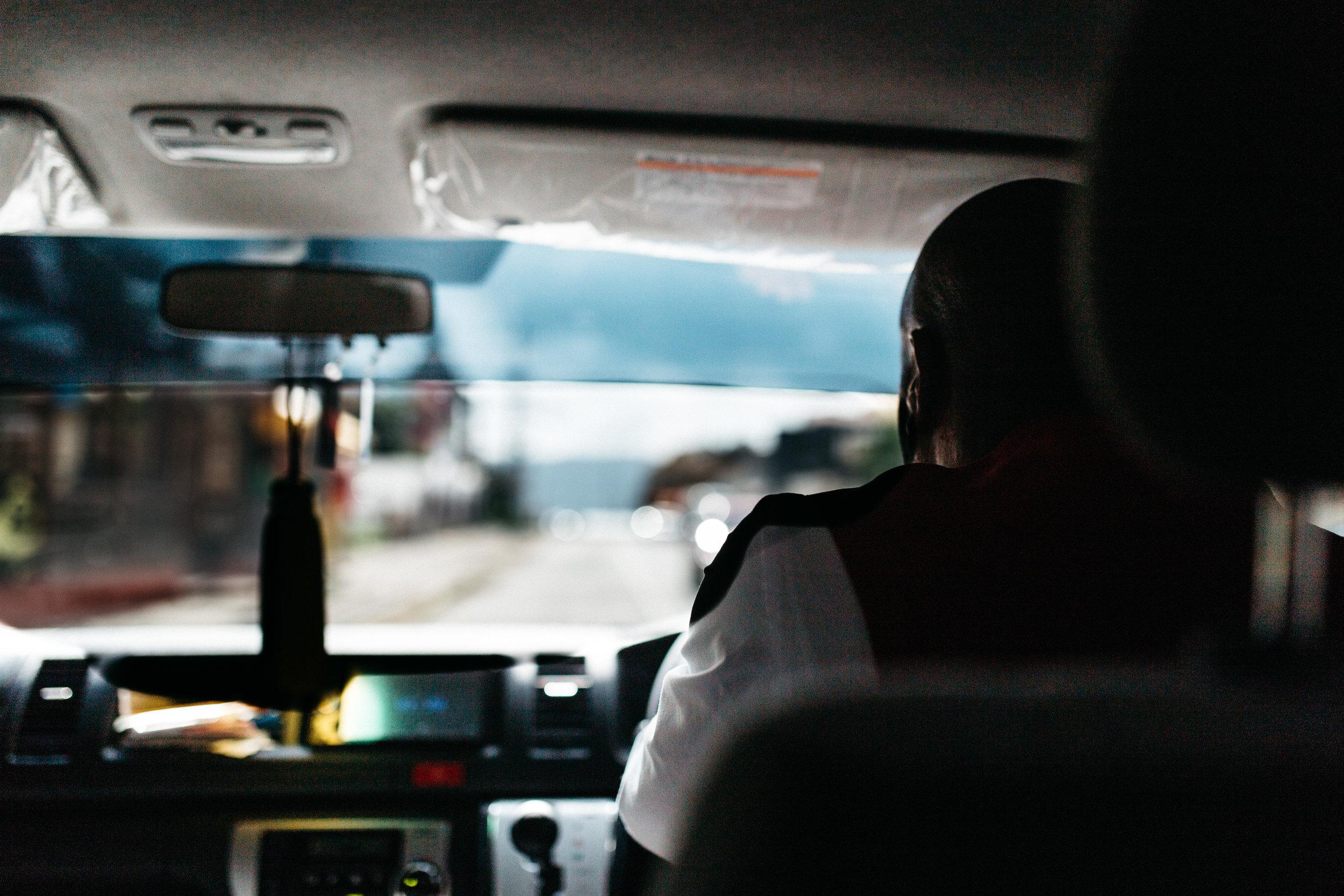 Hands down, happiest cab ride we've ever taken part of.