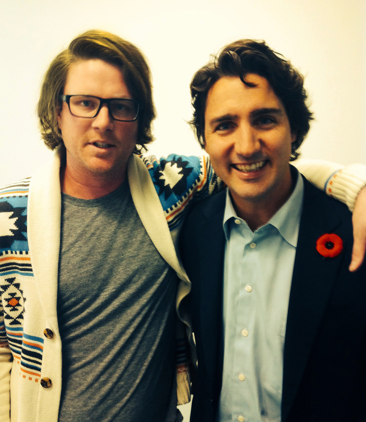 Interviewing Justin Trudeau for Informal Education.